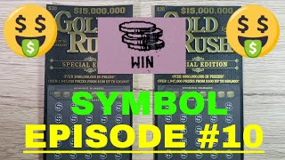 Episode 10 - BIG FLORIDA LOTTERY SCRATCH OFF TICKETS - SYMBOL - $30 Gold Rush Special Edition WINNER