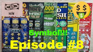 Episode 9 - FLORIDA LOTTERY SCRATCH OFF TICKETS- Assorted $5 Tickets - FOUND SYMBOLS